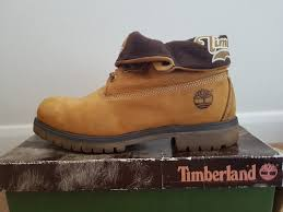 rare nearly new men u0027s timberland authentic roll top ankle boots