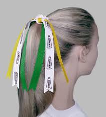 softball ribbon she plays sports inc sports custom hair ribbons scrunchies