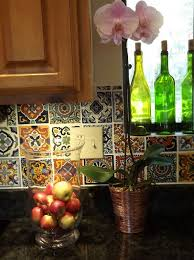 mexican tile backsplash ideas for kitchen home design ideas