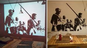 use a projector to paint amazing wall murals lifehacker australia