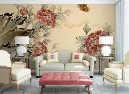 wall mural oriental style fotomurales arte kids wall mural strawberry shortcake