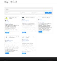 Times Job Resume Upload by Simple Job Board U2014 Wordpress Plugins