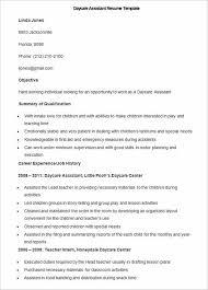 Daycare Teacher Resume Have Your Own Best Teacher Resume