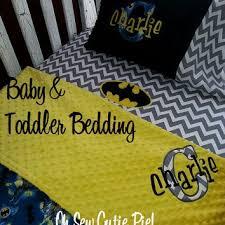 Batman Toddler Bedding Shop Custom Baby Bedding On Wanelo