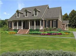 Southern Style Home Floor Plans This Southern Style House Plan Showcases Classic Elements Of A