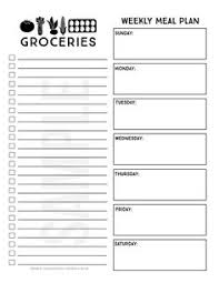 ultimate guide to meal planning printables monthly menu easy