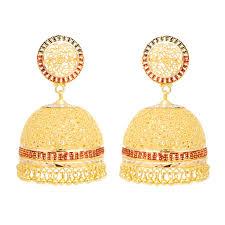 gold earrings for wedding earrings new classic bridal gold earrings grt jewellers