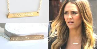 nameplate bar necklace engravable gold bar necklace nameplate silver custom mothers