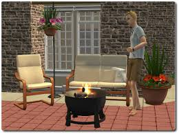 Sims 4 Furniture Sets Mod The Sims Patio And Garden Set A Mixed Bag Of Stuff For The