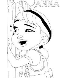 anna calling elsa coloring pages place color