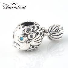 pandora charm silver bracelet images Fit pandora bracelet charms 925 sterling silver beads angel fish jpg