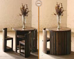 Space Saving Dining Table Round Dining Table U0026 Chairs For Small Homes Space Saving Table
