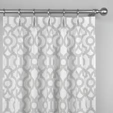 Light Gray Curtains by French Pale Light Gray White Lyon Lattice Trellis Quatrefoil