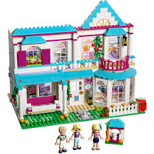 lego friends stephanie u0027s house 41314 toys