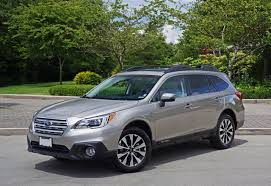 green subaru outback 2017 2016 subaru outback 2 5i limited road test review carcostcanada