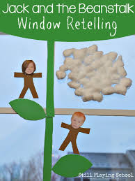 jack and the beanstalk window retelling still playing