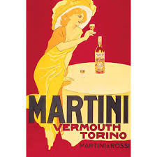 martini vintage martini rossi vermouth torino vintage advertising art print