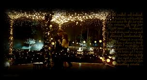 Backyard Wedding Lighting Ideas Tent Wedding Twilight String Lights Rob Alberti U0027s Event