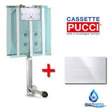 cassette pucci incasso cassetta scarico ad incasso pucci 1pulsante scarico wc water