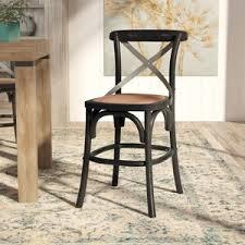 wicker rattan bar stools birch lane