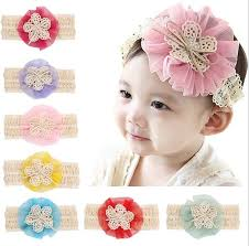 baby flower headbands fancy baby flower headbands top baby crochet baby headbands
