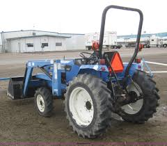 2004 new holland tc30 mfwd tractor with loader item 2990