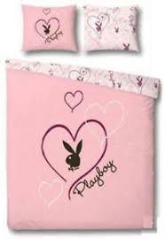 Playboy Duvet Sets Single Bed Playboy Sweet Heart Polycotton Panel Duvet Set
