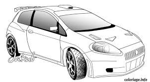 coloriage dessin voiture tuning a colorier dessin