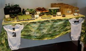 camouflage baby shower impressive ideas camouflage baby shower decorations gorgeous design