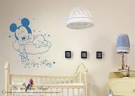 chambre b b mickey stickers personnalisés bébé mickey lesmurmursdangel fr