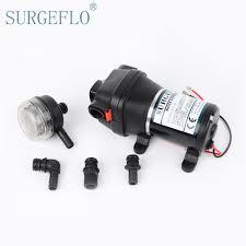 Rv Water Pump System Surgeflo 12v 120w Dc Micro Diaphragm Pump Irrigation Motorhome Rv
