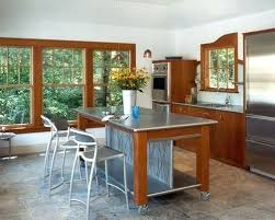 kitchen island with stainless top stainless steel kitchen island evropazamlade me