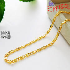 handmade chain necklace images Wholesale wan zi gold chain necklace handmade jewelry women gold jpg