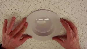 5 shower light trim how to adjust our led retrofit recessed trim from 6 to 5 by total