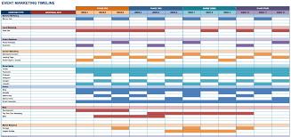 Schedule Spreadsheet Free Marketing Timeline Tips And Templates Smartsheet