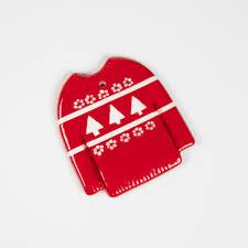 plain sweater ornament ilovetocreate
