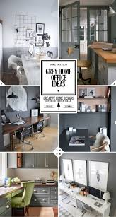 work in style grey home office ideas home tree atlas