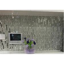 glass and metal tile backsplash ideas bathroom stainless steel