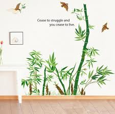 bamboo wall art roselawnlutheran bamboo forest wall art mural decor cease to struggle and you cease to live wall quote