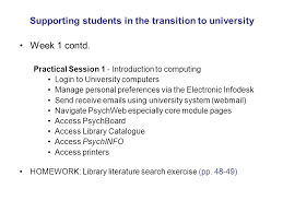 Keele University Login Supporting Students In The Transition To University Ppt Download