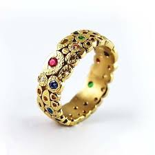 colored gem rings images Rings with colored gems equinox jewelers portland oregon jpg