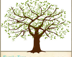 family tree clip tree clipart image clipartix
