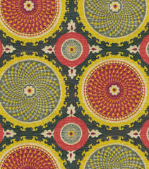 home decor print fabric waverly bohemian swirl fiesta joann