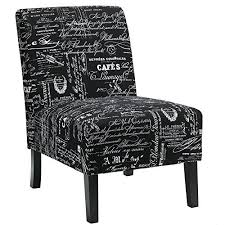 Black And White Accent Chair Black Accent Chairs