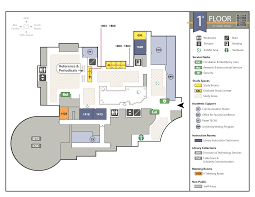 joyner library floor maps