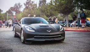 pic 2014 corvette stingray wrapped in matte black corvette