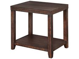 small rectangular end table magnussen home living room small size rectangular end table t2528 04