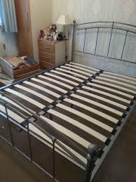 king size bed frame sprung slats bed frames ideas pinterest