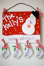 personalised family plaques for christmas and other holidays