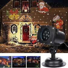Christmas Outdoor Projector Lights by Vokul Moves Automatically Led Landscape Spotlight Projector Light